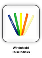 Windshield Chisel Sticks